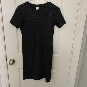 H&M Basics Striped Dress